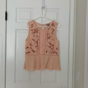 Lucky brand-blush pink tank top
